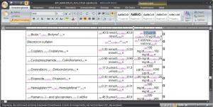 Ręczne kopiowanie tagów i ustawianie atrybutów tekstu