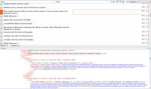 Complex XML file imported into memoQ